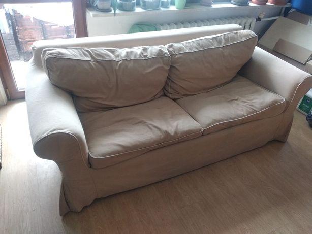 Sofa rozkładana do spania IKEA ze zdejmowanym pokryciem