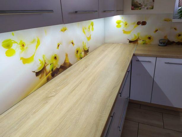 Szkło do kuchni Panele szklane na wymiar Lacobel Lustra