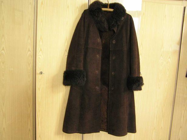 Пальто меховое-дубленка импортная женская натуральная