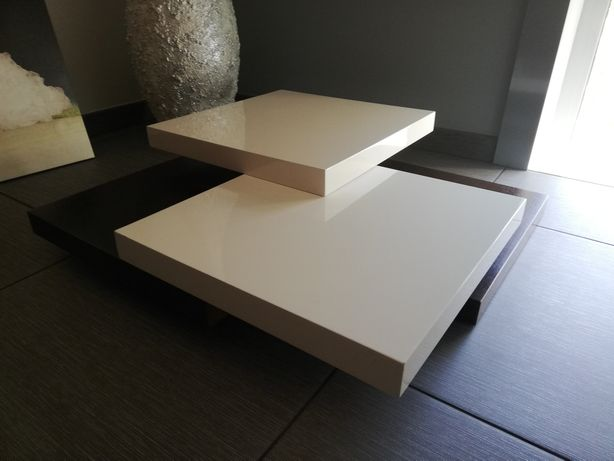 Mesa de centro madeira lacada