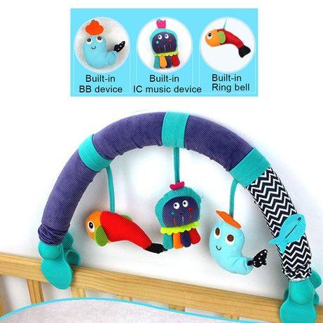 Іграшка в коляску або ліжечко