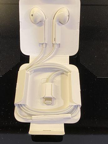 Słuchawki apple EarPods ze złączem Lightning nowe