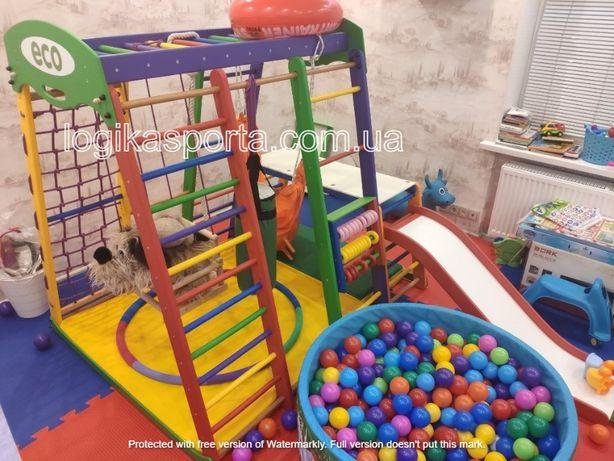 Горка, мат, детская площадка, спортивный комплекс игровой, качели