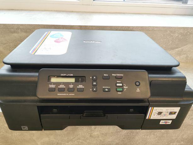 Drukarka Brother MFP-T510W WiFi Xero tania w eksploatacji Okazja