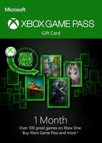 Xbox game pass 1mc kod