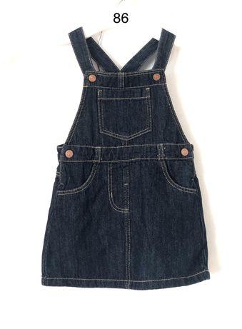 Sukienka 86 jeansowa
