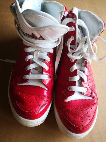 Adidas, sapatilhas cor vermelho, Tam. 39