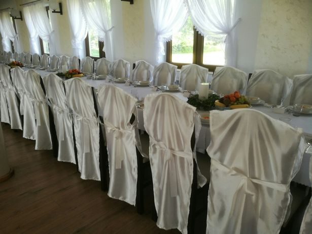 Pokrowce weselne- 100 sztuk