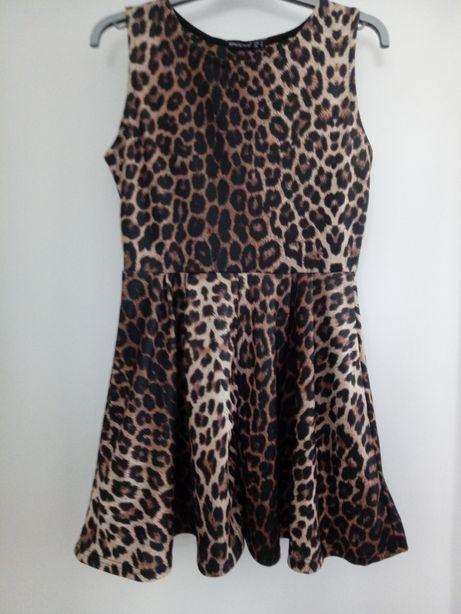 Sukienka panterka r 38
