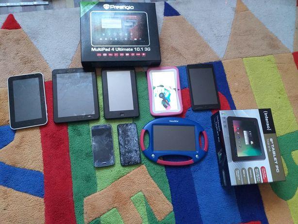 Tablety i telefony na części + Nowy futerał na tableta