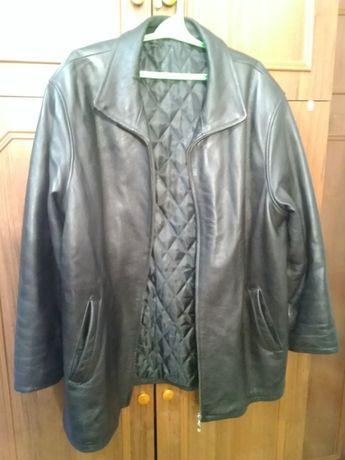 Куртка мужская, натуральная кожа, 52-54 размер