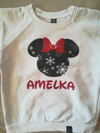 Bluza z imieniem Amelka