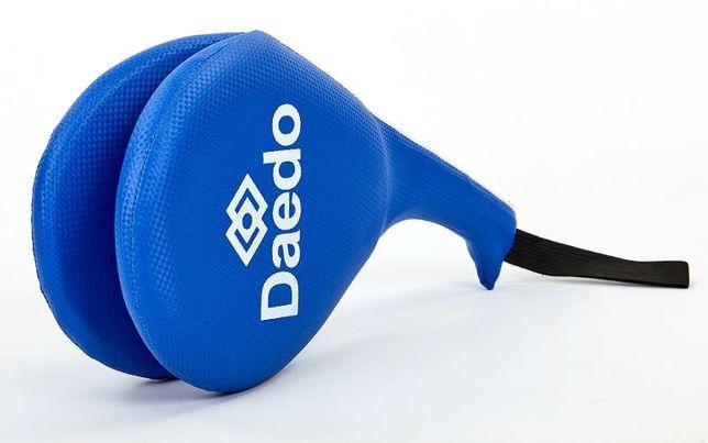 Таргетка ракетка для тэквондо Daedo (хлопушка, лапа для ног) двойная
