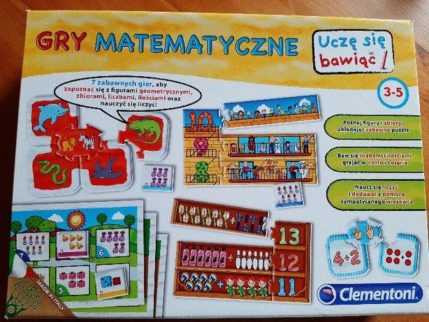 Gra matematyczna wiek 3-5 lat Clementoni