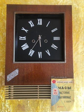 Часы настенные с боем. Ссср