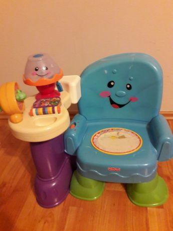 Krzesełko interaktywne.