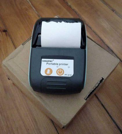 Impressora Térmica portátil para Talões/Recibos 58mm