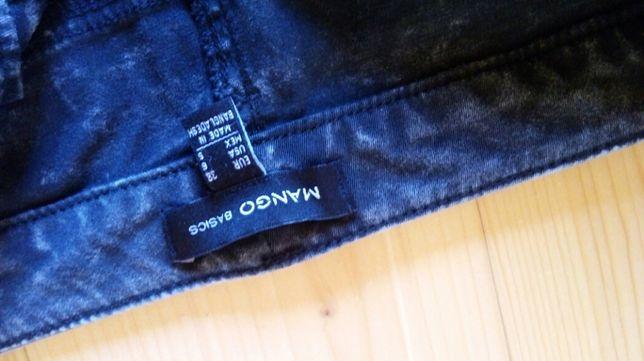 Mango 38 rurki jeansy