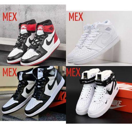 Кроссовки зимние Nike Air Jordan Force . Найк аир джордан аир форс .