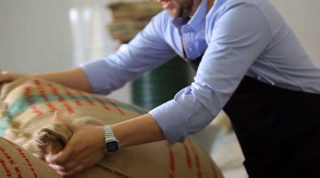 Изысканный купаж из 4-х арабик и 2-х робуст Кофе в зернах. 70%30% кава
