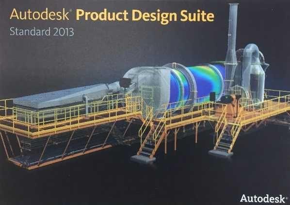 Autodesk Product Design Suite Standard 2013 -  Invetor, Mechanical
