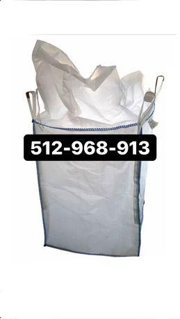 Big bag beg bagi bags opakowania na kamień gruz 4 x uchwyty