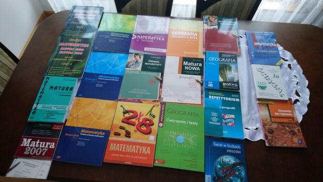 Matematyka, geografia itp. Repetytoria, testy, ściągi, Matura