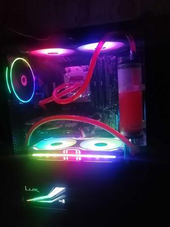 computador gaming watercolling
