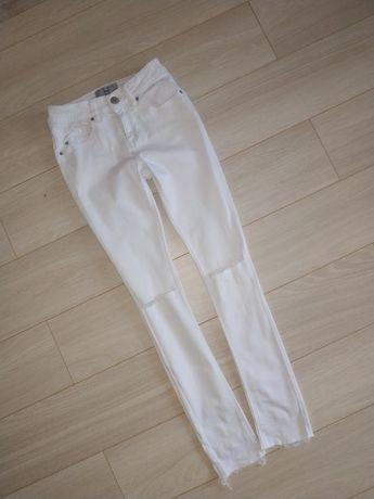 Білі джинси скіні new look 12років