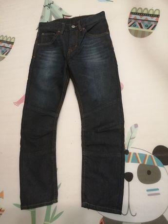 Spodnie jeansy H&M r. 134 idealne