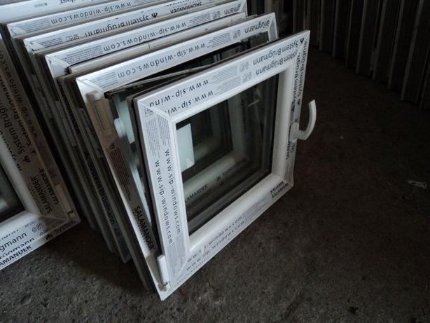 Okna pcv Nowe -sz565x535wys- rozw. uchylne