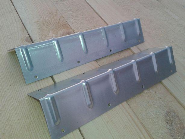skrzyniopalety narożniki do skrzyniopalet kątowniki metalowe z otworam