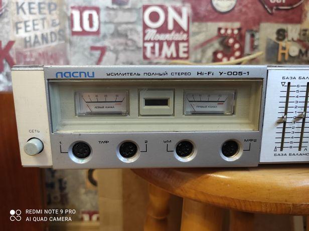 Усилитель Ласпи У-005-1 стерео hi-fi