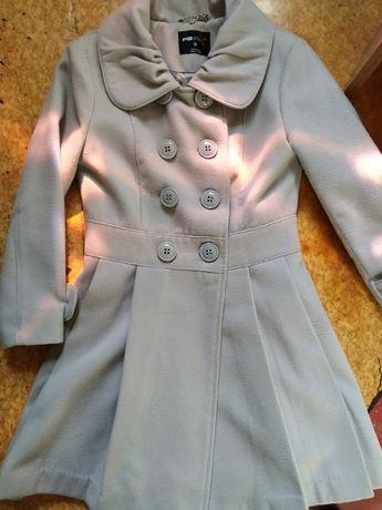 Кашемир пальто на девочку рост от 140