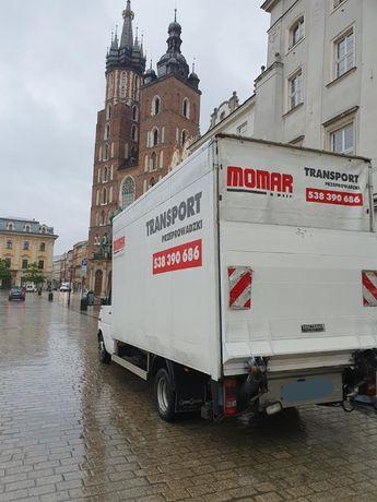 Przeprowadzki /Transport /Wnoszenie/ Odbiór towarów ze sklepów /