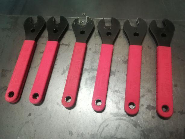 Klucze do konusów/stożków piast od 13 do 18mm Bike Hand - kpl. 12 szt.