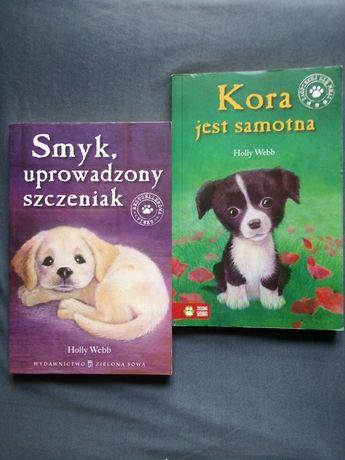 Holly Webb Kora jest samotna i Smyk, uprowadzony szczeniak