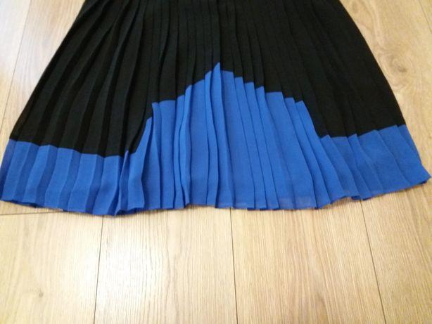 Spódnica plisowana nowa czarna L Next