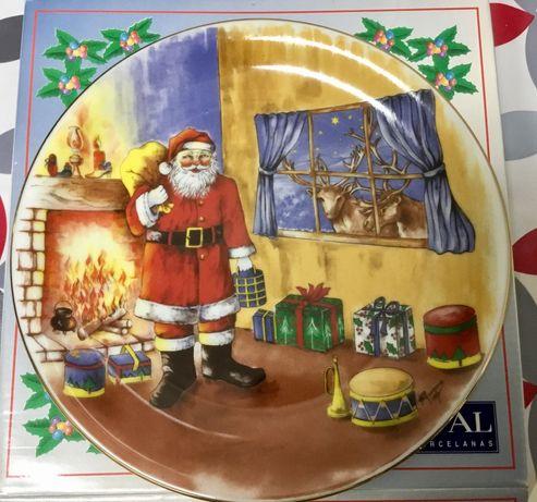 Prato comemorativo do Natal da Spal de 1993