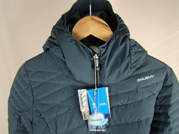 Kurtka- płaszczyk pikowana Husky puch S membrana 7000/5000