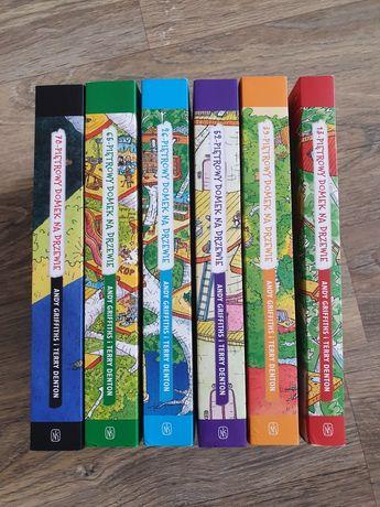 """Zestaw 6 książek serii """"Piętrowy domek na drzewie"""" Andy Griffiths"""