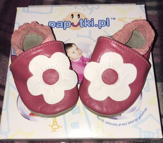 Buciki buty Paputki skórzane rozmiar XS