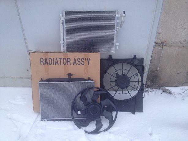 Радиатор кондиционер VW Passat, Polo, Touareg, T5