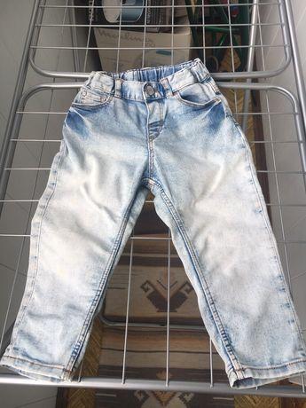 HM джинсы 12-18 мес.