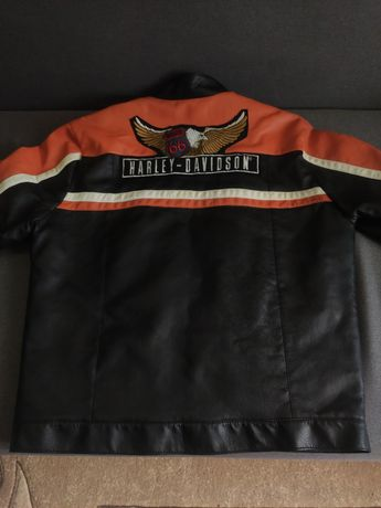мото куртка Harley Davidson RoccoBarocco кожанка xxl