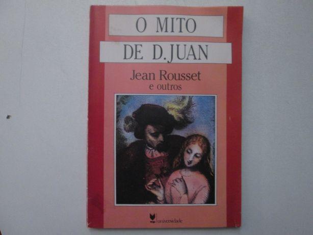 O mito de D. Juan- Jean Rousset e outros