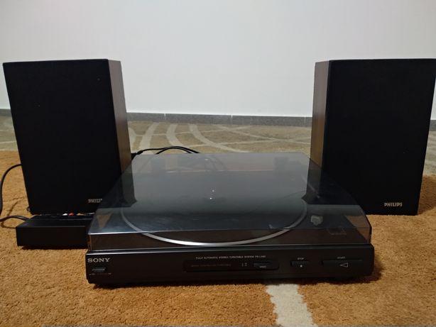 Vendo gira discos Sony + colunas.
