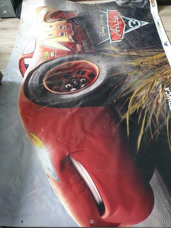Auta 3 Zygzak- Baner Plakat