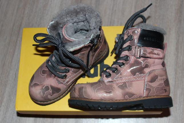 Зимние ботинки для девочки 27 размер