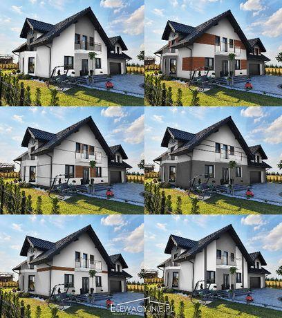 Projekt elewacji Twojego domu. Wizualizacje elewacji.